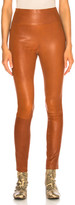 Sprwmn High Waist Ankle Legging in Cognac | FWRD