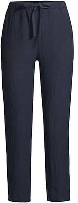 Eileen Fisher Linen Drawstring Pants