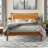 Monterey Platform Bed Copeland Furniture Color: Natural Cherry, Size: King