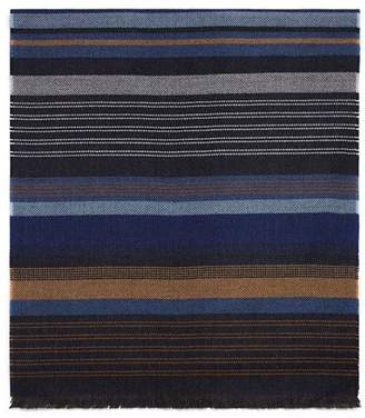 Bloomingdale's The Men's Store at Oversized Striped Scarf - 100% Exclusive