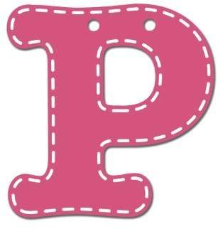 CoCalo Mix & Match Pink Hanging Letter, P by