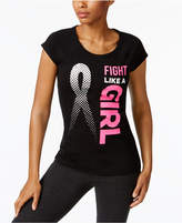 Ideology Breast Cancer Research Foundation Graphic T-Shirt, Created for Macy's