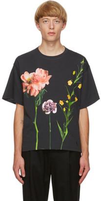 Valentino Black Inez and Vinoodh Edition Floral T-Shirt