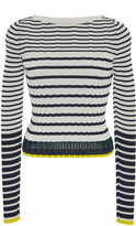 Pringle Stripe Long Sleeve Top