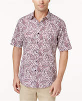 Tasso Elba Men's Paisley Shirt, Only at Macy's