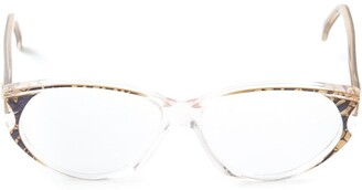 Givenchy Pre Owned Printed Glasses