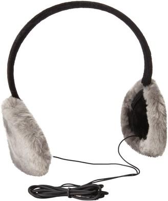 Gabriella Women's Faux Fur Earmuffs with Built-In Headphones