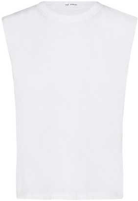 Theavant White Boy T-Shirt Without Sleeves