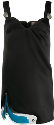 Christopher Kane Gel mini dress