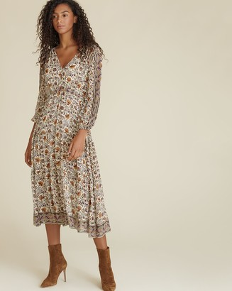 Veronica Beard Yoelle Paisley Dress