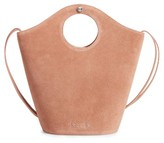 Elizabeth and James Small Market Suede Shopper - Beige