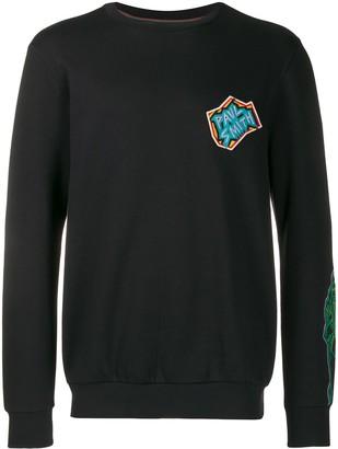 Paul Smith Logo Patch Sweatshirt