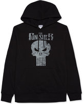 JEM Men's Marvel Punisher Skull Graphic-Print Hoodie