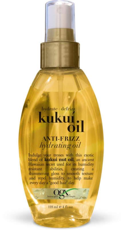 OGX Hydrate + Defrizz Kukui Oil Anti-Frizz Hydrating Oil