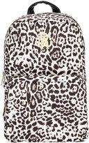Roberto Cavalli leopard print backpack