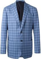 Kiton woven check blazer - men - Wool - 50