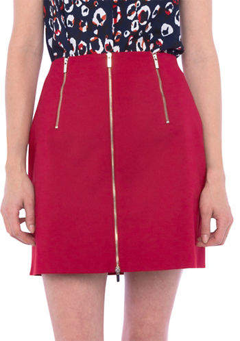 French Connection Glass Stretch Mini Skirt