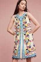 Anna Sui Bird's Nest Silk Tunic Dress