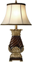 Stylecraft Walnut Ridge Finish Table Lamp
