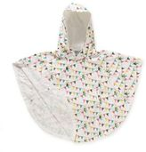 Rockin' Baby Size 12-24M Bunting Print Pourin' Poncho in White
