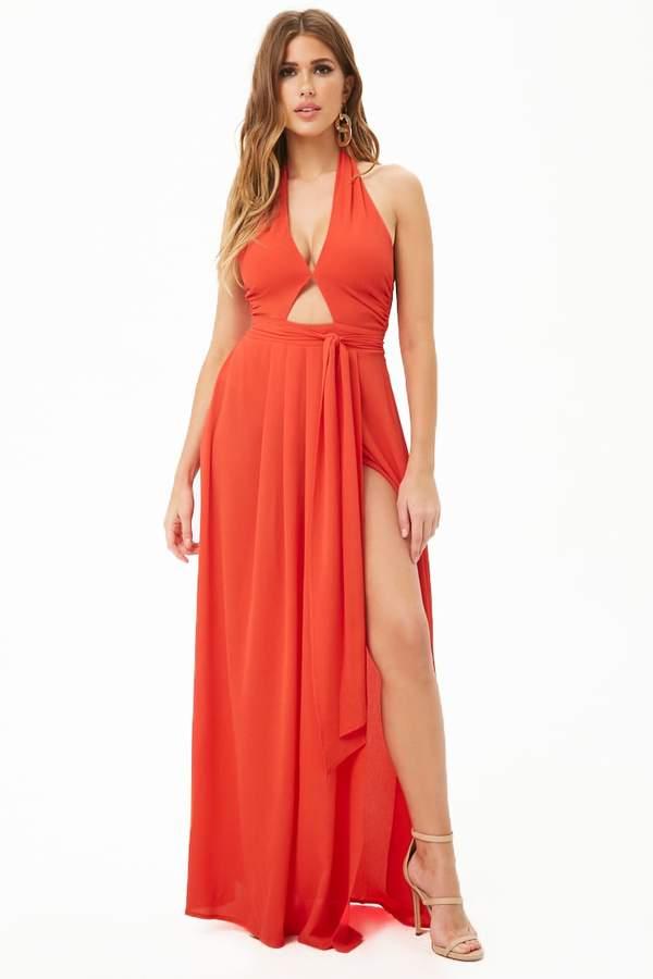 7a153d5e92 Red Front Slit Dresses - ShopStyle Canada