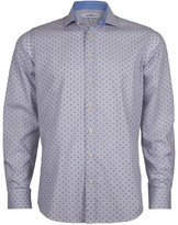 Jeff Banks White Label Hockney Dobby Slim Fit