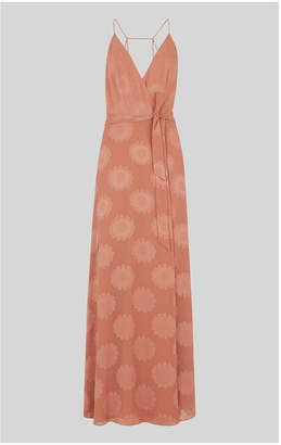 Whistles Noa Jacquard Maxi Dress