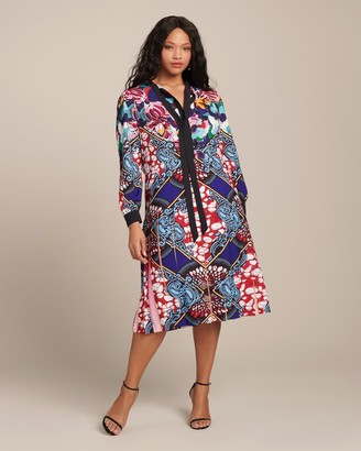 Mary Katrantzou Airmail Dress