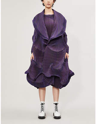 Issey Miyake Flower pleated woven jacket
