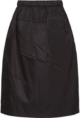 Prada Zip Pocket Straight Skirt