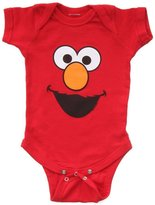 Sesame Street Elmo Face Baby Romper Snapsuit (12-18 months)