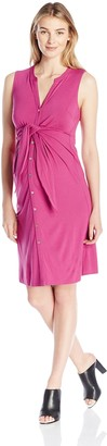 Ripe Maternity Women's Maternity Caress Nursing Dress