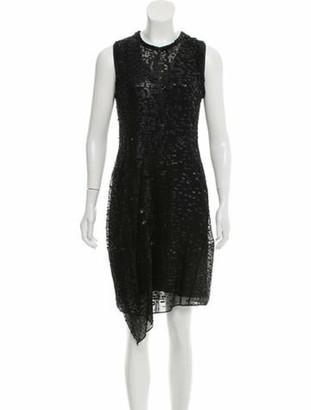 Reed Krakoff Tejus Embellished Dress w/ Tags Black