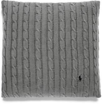 Ralph Lauren Cable-Knit Cushion Cover (45cm x 45cm)