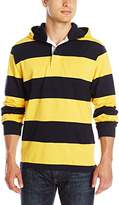 Charles River Apparel Men's Hooded Rugby