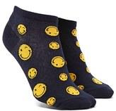 Forever 21 FOREVER 21+ Winking Face Print Ankle Socks