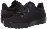 Ecco Sport Soft 7 Tred Terrain Hydromax Low (Black/Black) Men's Shoes