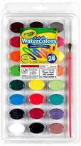 Crayola Watercolor Paints with Brush Washable 24ct