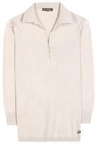 Loro Piana Polo Ventotene cotton and silk-blend top