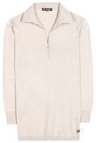 Loro Piana Polo Ventoyene cotton and silk-blend top