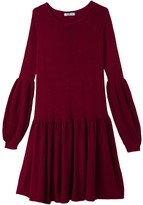 La Redoute Collections Long-Sleeved Flared Short Dress