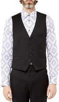 Ted Baker Metraw Debonair Wool Regular Fit Waistcoat