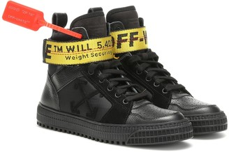 Off-White Exclusive to Mytheresa Industrial leather sneakers