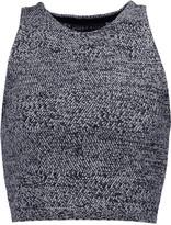 Alice + Olivia Coryn cropped wool tank