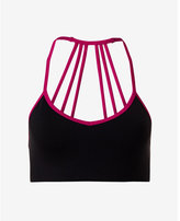 Express EXP core strappy back sports bra