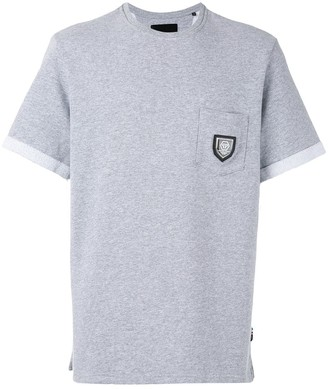 Philipp Plein badge pocket sweat T-shirt