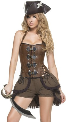 Mystery House Women's Steampunk Pirate Captain