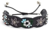 Rebecca Minkoff Women's Floral Guitar Strap Bracelet