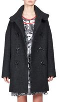 Kenzo Double-Breasted Bouclette Coat