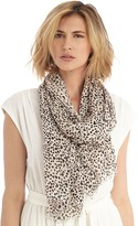 Sole Society Dot Print Scarf